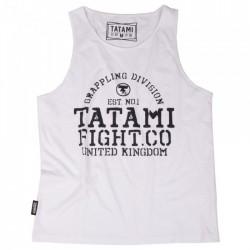 Tílko TATAMI Fightwear Jiu-Jitsu - bílé