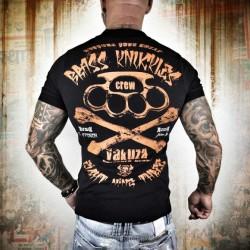 Yakuza Pánské tričko Brass Knuckles TPO 8069 - černé