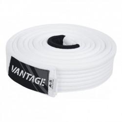 """VANTAGE BJJ Gi pásek """"Combat"""" - bílý"""