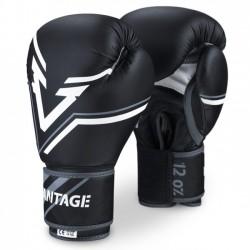 """VANTAGE Boxerské rukavice """"Combat Elastic"""" - černé"""